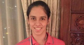 PHOTOS: Did pressure get the better of Saina at World C'ships?