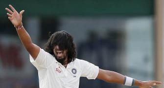 PHOTOS: India seven wickets away from series win in Lanka