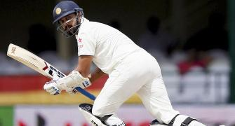 Now, it is Murali Vijay vs M S K Prasad