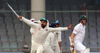 India crush world No. 1 South Africa by 337 runs, win Test series 3-0