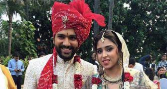 PHOTOS: Rohit Sharma ties the knot with Ritika Sajdeh
