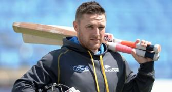 FACTBOX: New Zealand captain Brendon McCullum