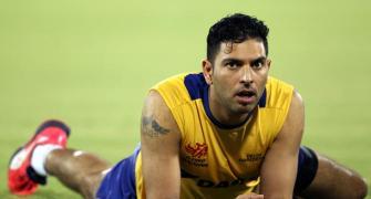 Yuvraj credits dad for improving fielding skills