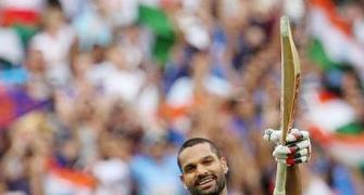 Here's what Dhawan's dad, coach think of his return to form...