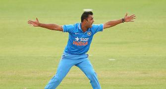 India pacer Shami out of UAE match; Binny may replace him