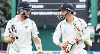 Wellington Test: Williamson, Watling fight back for New Zealand