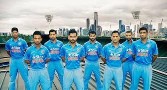 Team India's new ODI kit made of recycled plastic bottles