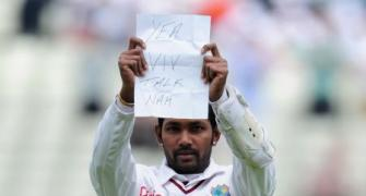 When Ramdin took on Viv Richards...