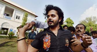 'It cannot be said that Sreesanth indulged in unlawful activity'