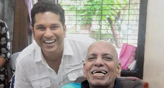 Well played sir: Tendulkar pays tribute to Achrekar