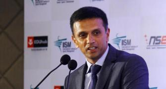 My role is to help India 'A' players get to the next level: Dravid