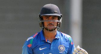 Manish Pandey fined for showing dissent in 'A' series tie