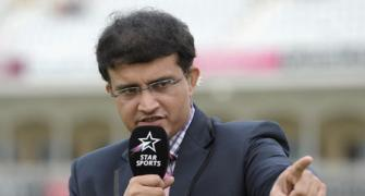 Don't think Pakistan are India's yardstick at the moment: Ganguly