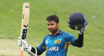 Record-breaker Sangakkara surges ahead in MVP table