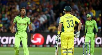 When Wahab Riaz made the Kangaroos hop