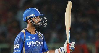 Why did Rajasthan's Rahane have sleepless nights?