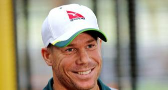 Warner accepts 'thumb rule' of his life