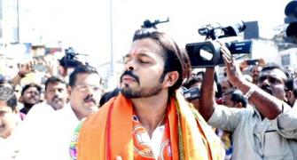 Exclusive! Sreesanth: I will stick to politics for now