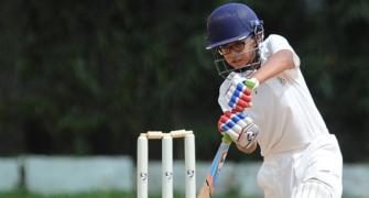 Dravid's son Samit hits double century in U-14 match