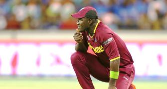 Sammy hits out at Mark Nicholas for 'short of brains' remark