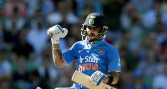 Number crunching: Kohli sparkles with ton but India humbled