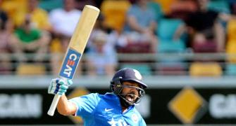 Run-machine Rohit is MVP of Australia-India ODIs