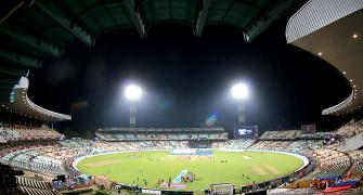 Eden Gardens, a ground renowned for historic firsts