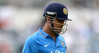 Was Dhoni dropped from T20s because of ODI form?