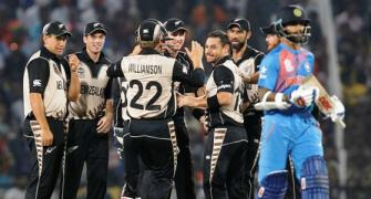 WORLD T20 PHOTOS: New Zealand spinners destroy India in Nagpur