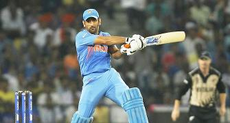 Dhoni finds his excuse: 'Challenge to score runs on such tracks'