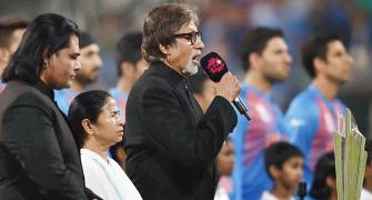 Ganguly confirms: Bachchan charged nothing to sing national anthem!