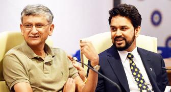 Supreme Court removes BCCI chief Thakur, secretary Shirke