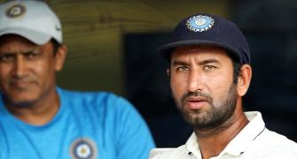 Pujara down with flu but will bat at his usual position