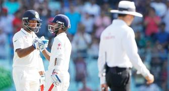 2nd Test PHOTOS: Pujara, Rahane lift India after poor start