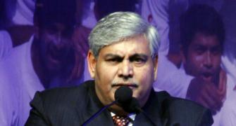 BCCI rejects Manohar's offer of additional US $100 million