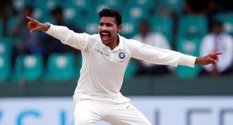 Suspended Jadeja spends time with coach Shastri