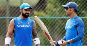 Dhoni backs Kohli over scheduling of tours