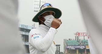 Dhawan gets candid about Delhi pollution