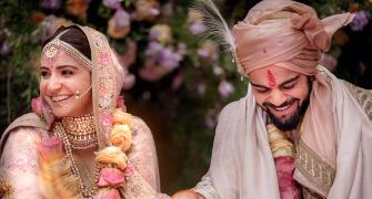 When sports stars got hitched...