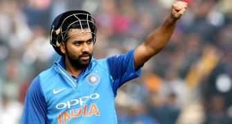 Congratulate Rohit Sharma on his third double century!