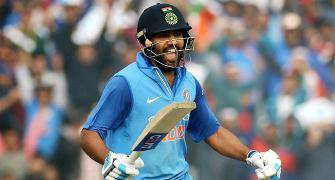 #OnThisDay: When Rohit pummeled SL with a double!