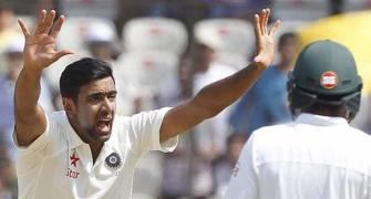 Ashwin becomes fastest to pick 250 Test wickets