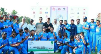 India outclass Pakistan to win Blind T20 World Cup