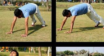 Kaif hits back at trolls for performing Surya Namaskar