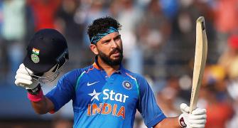Never giving up and repaying the faith: Yuvi doing it his way