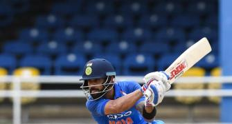 Kohli's century leads India to ODI series victory vs Windies