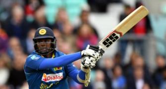SL captain Mathews back in team but won't bowl against India