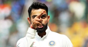 Kohli nearly accuses Smith of cheating over DRS row
