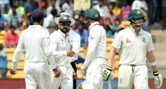 Tempers flare as Kohli-Smith showdown continues