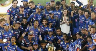 Congratulate Mumbai Indians on their IPL triumph